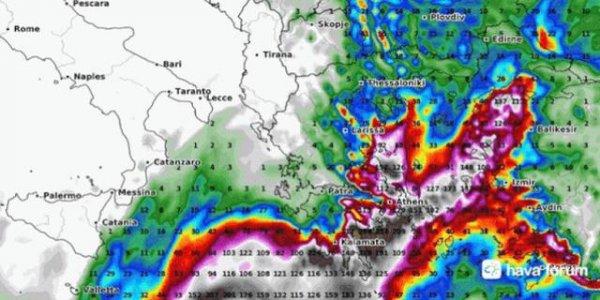 Kırbaç Kasırgası Türkiye'ye gelebilir