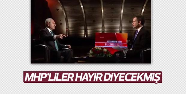 Kılıçdaroğlu'nun referandum iddiası