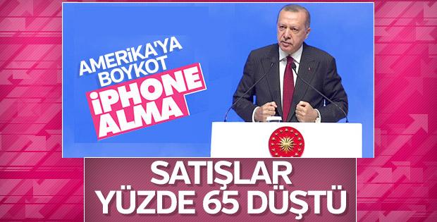 Türkiye'de iPhone satışları düştü