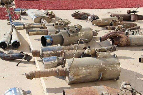 Düzce'de abartı egzozlu araçlara geçit yok