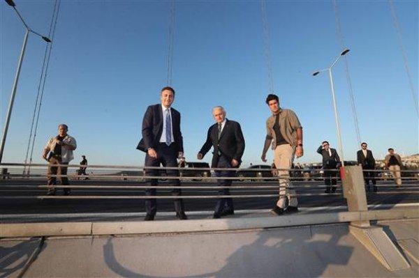 Köprüdeki intihar teşebbüsünü Binali Yıldırım önledi