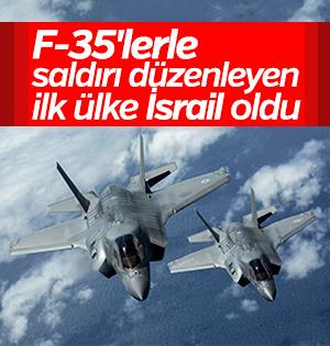 F-35'ler ilk kez saldırı için kullanıldı