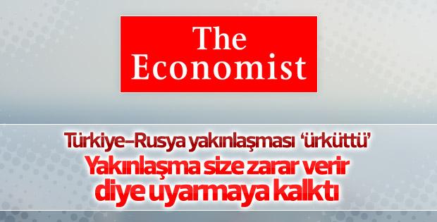 The Economist'in Türkiye-Rusya yakınlaşması korkusu
