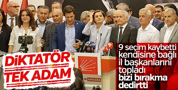 CHP İl Başkanları: İmza süreci partimize zarar veriyor