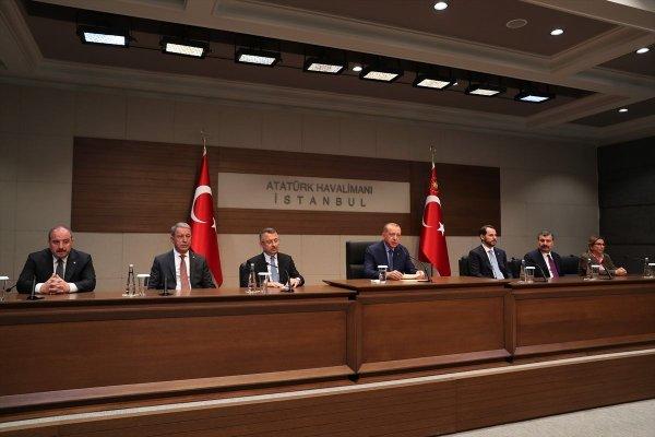 Başkan Erdoğan, MHP'nin af teklifini değerlendirdi