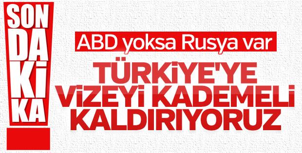 Moskova'dan Türk vatandaşlarına vize kolaylığı