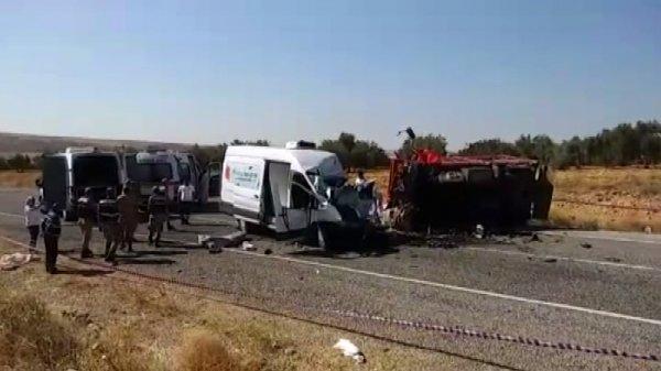 Gaziantep'te feci kaza: 7 ölü