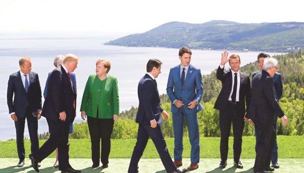 Gerilim dolu G-7 zirvesi