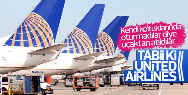 United bu kez evlilik hazırlığı yapan çifti uçaktan attı