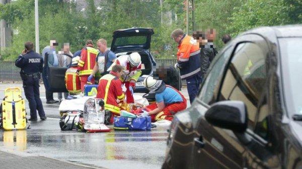 Almanya'da feci kaza: 5 Türk ağır yaralı