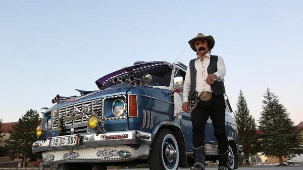 'Çorum'un kovboyu'nun hayali Teksas'ı görmek