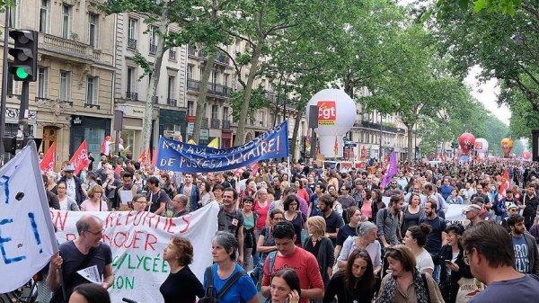 Fransa'da Macron'a insan seli protestosu yapılacak