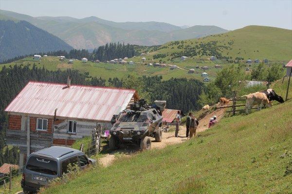 Karadeniz'de 22 kişilik terörist grup artık sadece 4 kişi