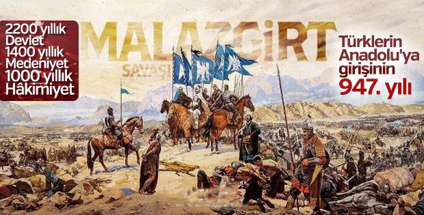 1071 Malazgirt Zaferi'nin 947. yıl dönümü kutlu olsun.. (26-08-2018)