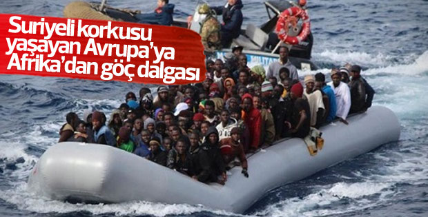Afrika'dan Avrupa'ya göçlerde büyük artış