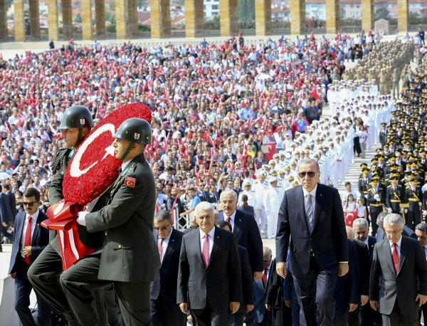 Turkey celebrates the 96th anniversary of Victory Day
