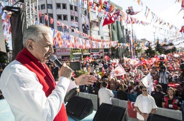 Başbakan Yıldırım: Benim de geçmişim Kürt
