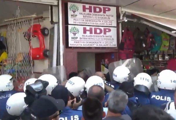 Batman'da HDP İl Başkanı ve parti yöneticisi gözaltına alındı