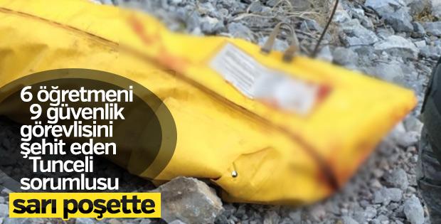 Tunceli'de kırmızı kategorideki terörist öldürüldü