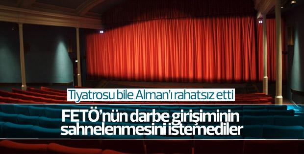 Almanya'da darbe girişimini anlatan tiyatroya yasak