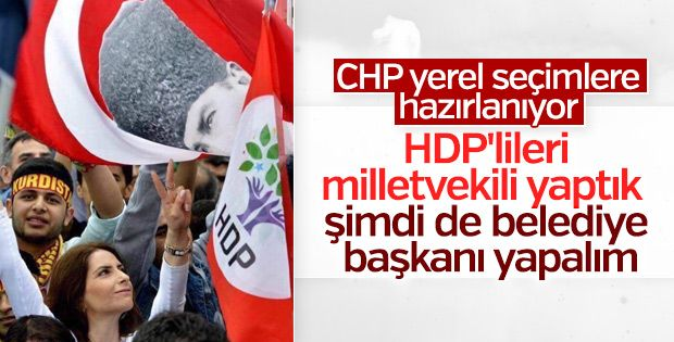 The CHP-HDP alliance will continue with local elections