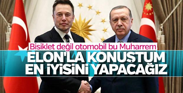 Erdoğan yerli otomobil konusunda kararlı