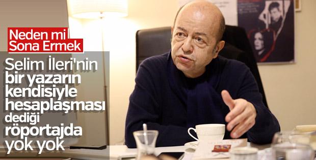 Usta yazar Selim İleri ile 'Sona Ermek' üzerine röportaj