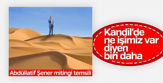 Abdüllatif Şener, Kandil operasyonunu sorguluyor