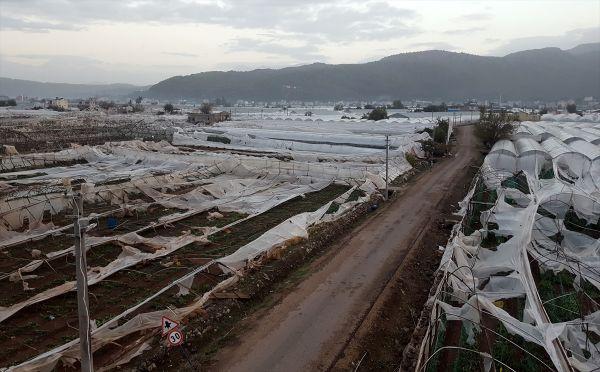 Antalya'nın 4 ilçesinde afet