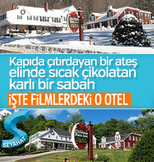 Masal kitabı gibi otel: Christmas Farm Inn And Spa