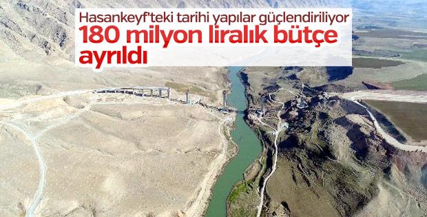 Hasankeyf'e 180 milyon liralık bütçe ayrıldı