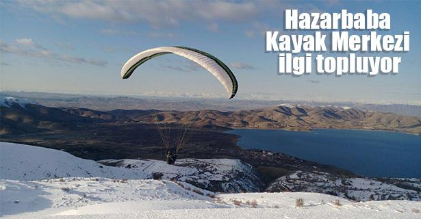 Hazarbaba Kayak Merkezi ilgi topluyor
