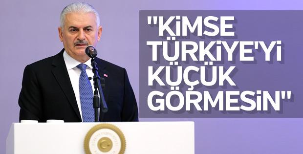 Yıldırım: Projeler Türkiye'nin geleceği için yapılıyor