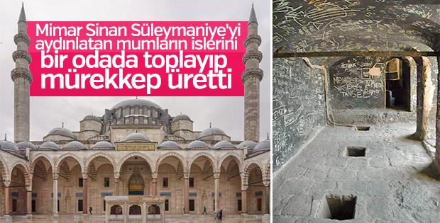Süleymaniye Camii'ndeki is odasının sırrı