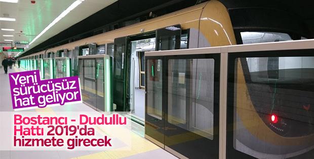 Bostancı- Dudullu Metrosu'nda çalışmalar sürüyor