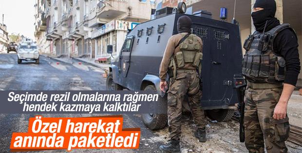 Diyarbakır Silvan'daki operasyondan görüntüler