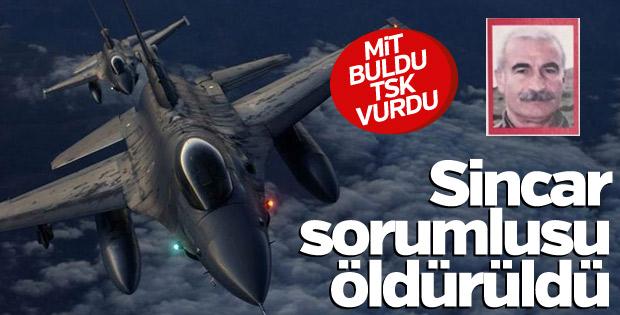 PKK'nın kırmızı listedeki Sincar sorumlusu öldürüldü