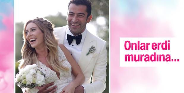 Sinem Kobal ile Kenan İmirzalıoğlu evlendi