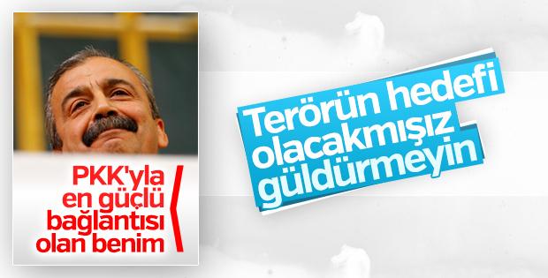 Sırrı Süreyya Önder terörün hedefi olabileceğine inanmadı
