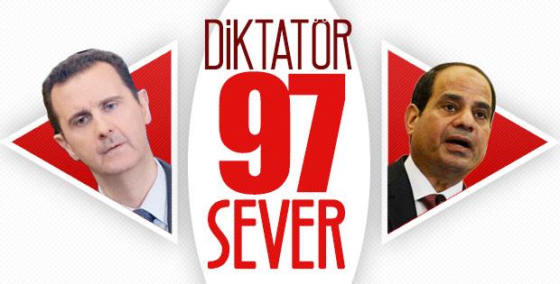 Sisi, bir kez daha yüzde 97'yle seçildi