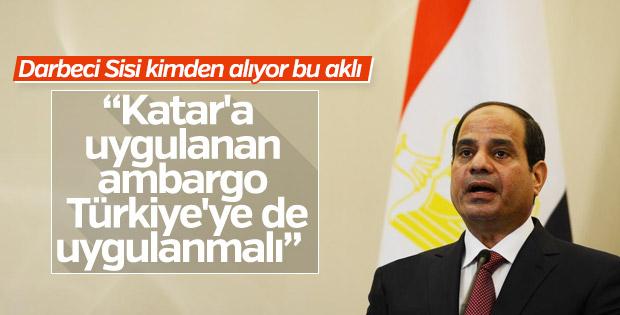 Sisi'den küstah Türkiye açıklaması