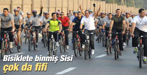 Sisi'nin enerji çözümü bisiklet