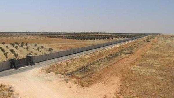 İran sınırına güvenlik duvarı yapıldı