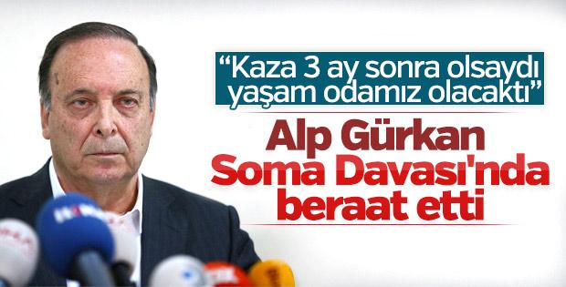 Soma Davası'nda Alp Gürkan'a beraat kararı