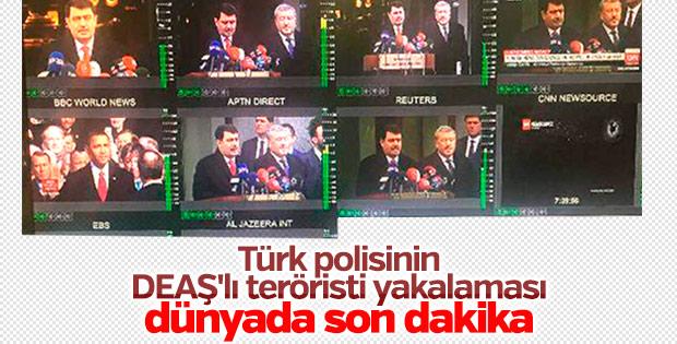 Vali'nin açıklamasını dünya televizyonları canlı verdi