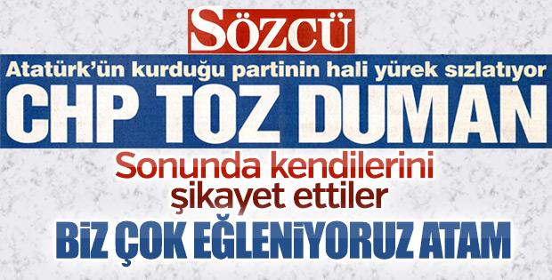 Atatürk'e kendi kendilerini şikayet eder hale geldiler