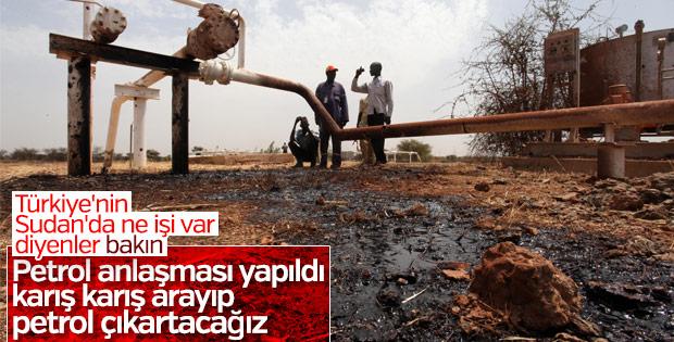 Türkiye Sudan'dan petrol çıkartacak