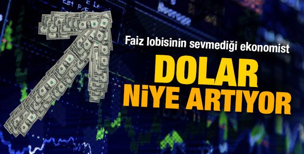 Süleyman Yaşar'ın dolar niye artıyor yazısı