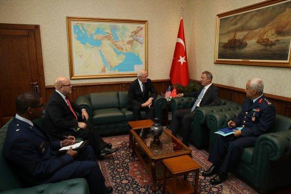 ABD'nin Suriye Özel Temsilcisi Türkiye'de
