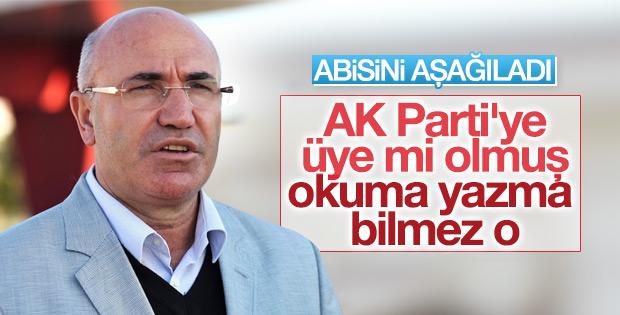 CHP'li Mahmut Tanal'ın ağabeyi AK Parti'ye üye oldu